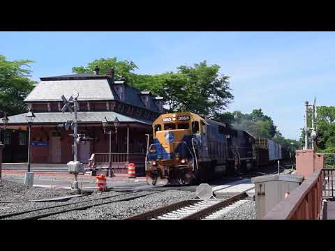 Tuesday Railfanning on the Springfield Line!! 6/26/18