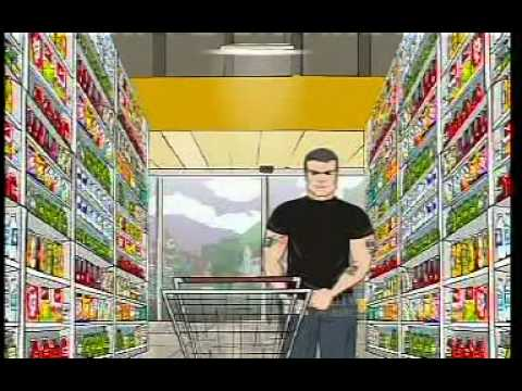 Henry Rollins Wal Mart Cartoon COMPLETE VIDEO!