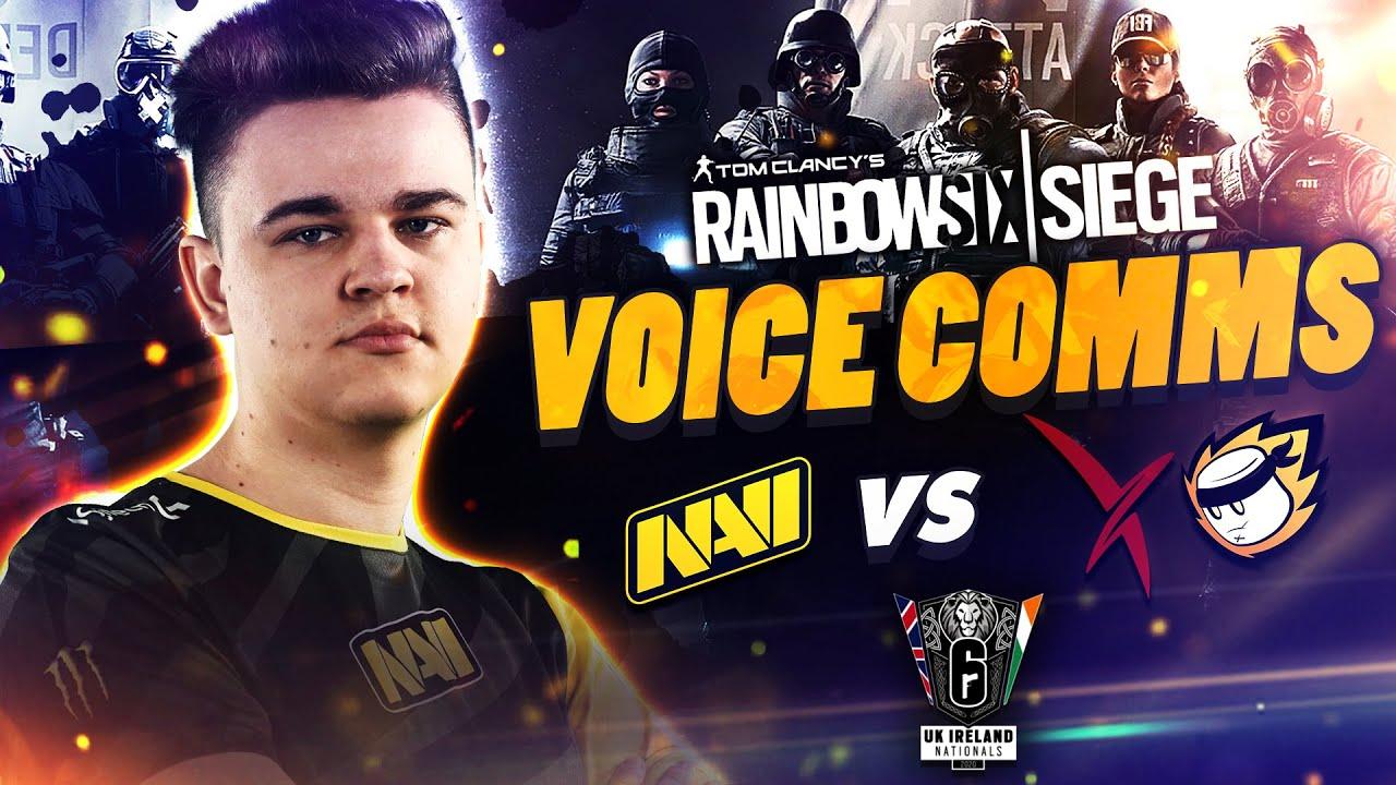 NAVI vs Vexed and MnM - Rainbow Six VOICE COMMS at UK Ireland Nationals