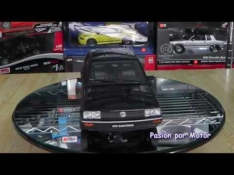 Revisión / 1:18 Volkswagen Santana Corsar de Welly Platinum