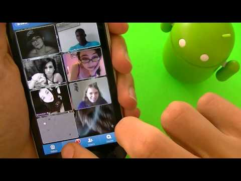 TinyChat for Android! Chat with the world and Group video Chat!