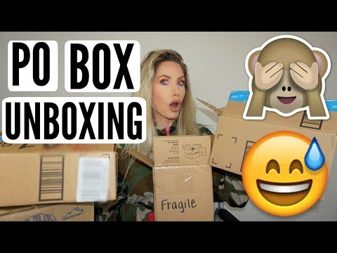 HUGE PO BOX UNBOXING