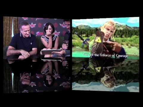 Robin and Zelda Williams's reaction to the Smosh Zelda video