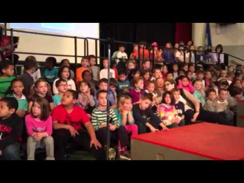 Wolcott Elementary School Town Meeting on Human Rights Day