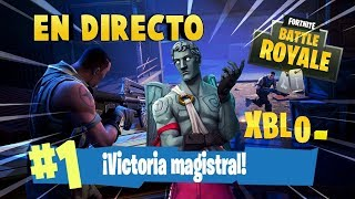 PLAYING WITH *NEW SKIN* IN FORTNITE #57 OF SPAIN PS4 TRN +412 VICTORIAS
