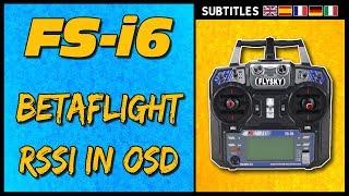 FlySky ФС-і6 - пупс в Betaflight ОСД