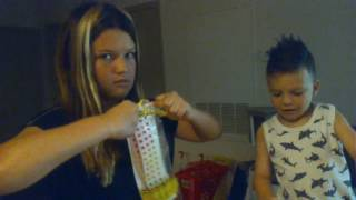 Lukey Luke ...putty...candy buttons &sour candy ft. Big sis