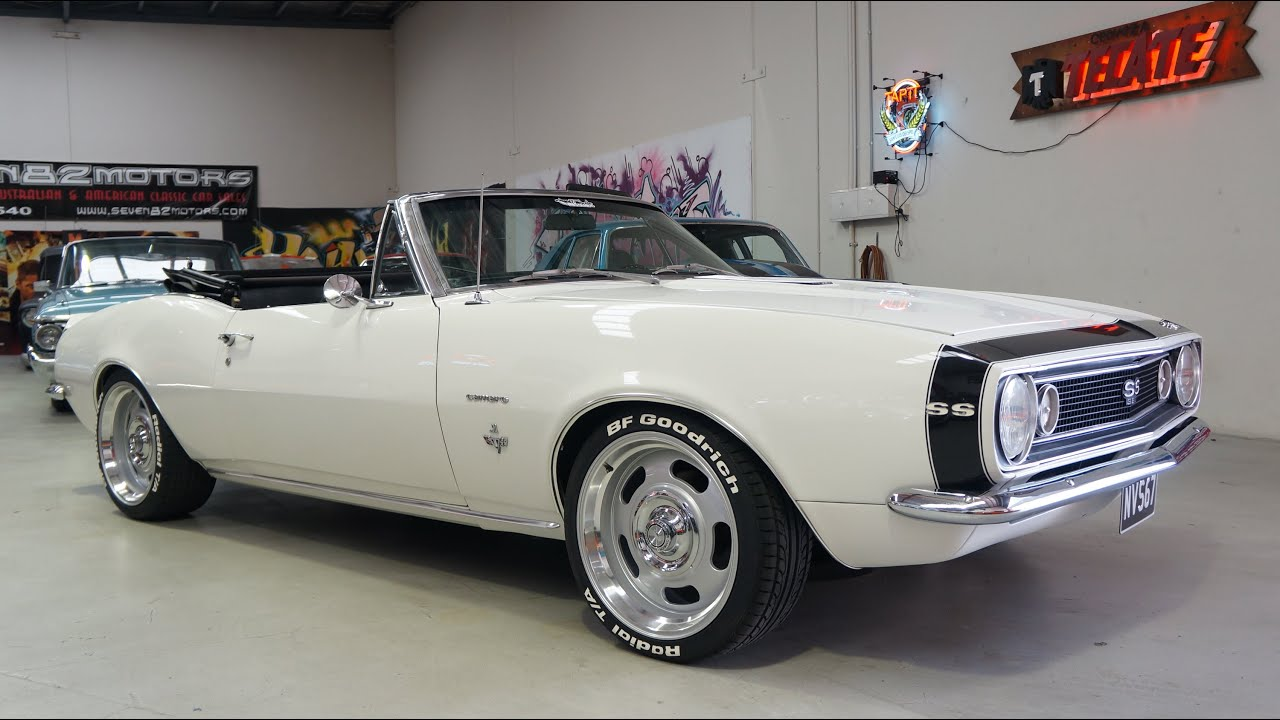 1967 Chevy Camaro For Sale At Seven82motors Classic S