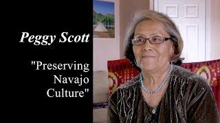 Peggy Scott - Navajo Community Activist - Living History