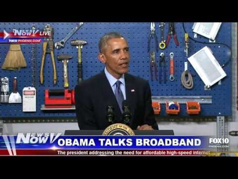 President Obama Talks Increase in Access to Affordable High-Speed Internet