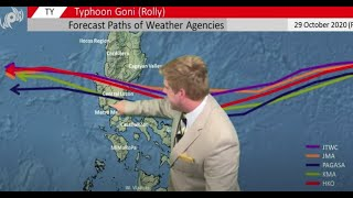 Typhoon Goni (Rolly) Explodes in intensity. Atsani continues to develop. 30 October Update