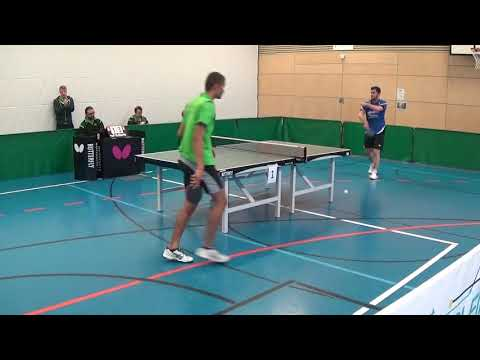 Oberliga Bayern Tischtennis Bindac TSV Windsbach TuS Bad Aibling Ludwig    20170930 Stativ   1