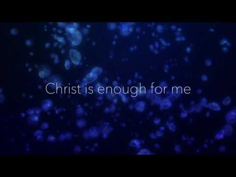 Christ is enough Hillsong Piano version (Karaoke with lyrics)