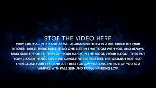 Vampire Spell For Boys Only