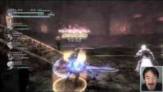 Wii The Last Story - Gathering System demonstration