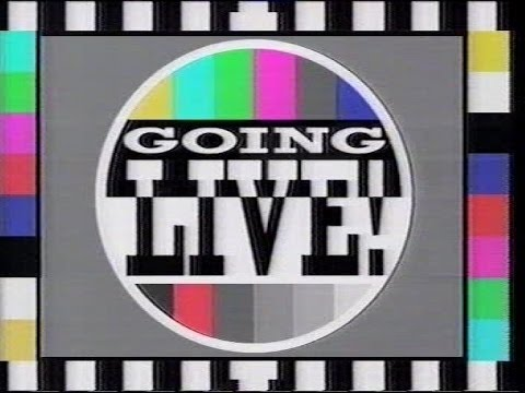Going Live! | Last 30 minutes of episode | BBC1 21/09/1991