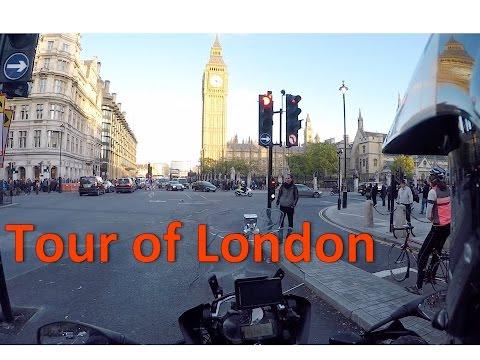 London Life 4: London tour on a motorbike!