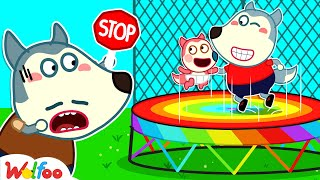 Baby Jenny, Watch Out for Dangers! - Wolfoo Learns Safety Tips for Kids   Wolfoo Family Kids Cartoon