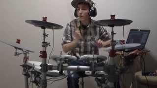 Brantley Gilbert - Bottoms Up (drum cover) MasonVPT EZDrummer