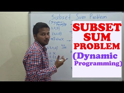 Subset Sum Problem Dynamic programming