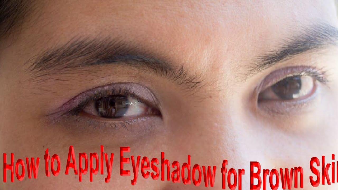 Smokey Eyes Makeuphow To Apply Eye Shadow For Brown Skin