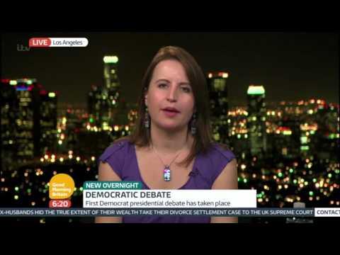 "Christina Bellantoni onGood Morning Britain: ""Who Are Hillary Clinton's Main Rivals"""