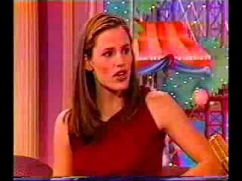 Jennifer Garner on Rosie O'Donnell 2001 (Part 2)
