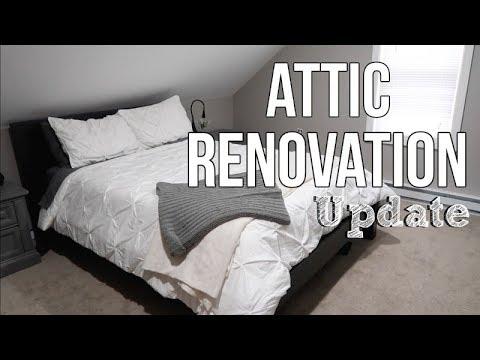 HOME RENOVATION | ATTIC MASTER BEDROOM | UPDATE