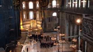 Мистика собора Святой Софии(Святая София Константинопольская, Айя-Софья — бывший патриарший православный собор, впоследствии — мечет..., 2014-02-10T13:10:42.000Z)