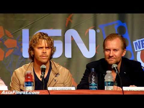 The Thing Movie at New York Comic Con with Adewale and Eric Christian