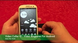 Video Caller ID App - Video Ringtones For Android