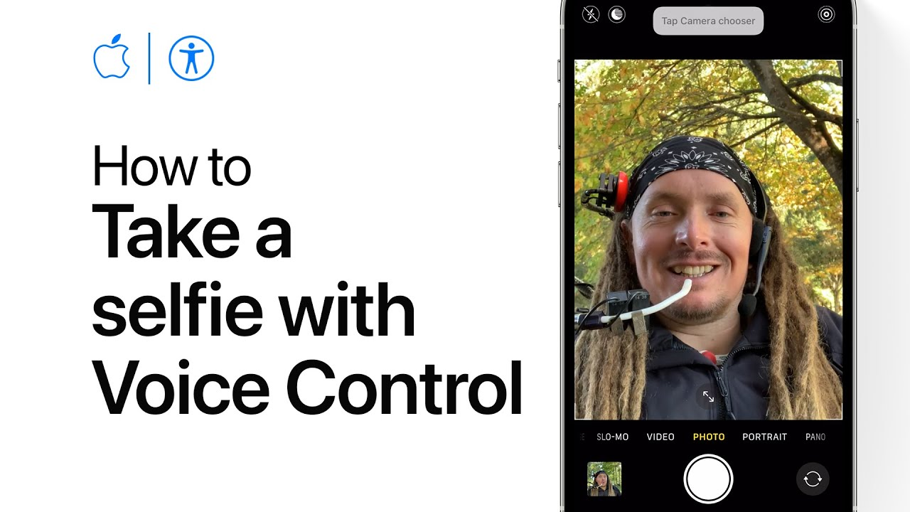 How To Take A Selfie With Voice Control On Iphone Ipad And Ipod Touch Apple Support Youtube