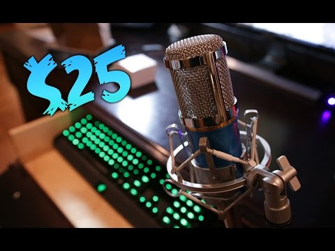 Budget $25 Microphone - Is it Good?!