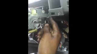 isuzu rodeo key stuck in ignition repaired