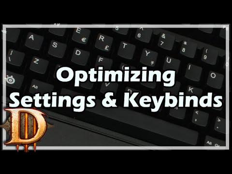 [Diablo 3] Optimizing Settings and Keybinds