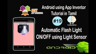 Automatic Flash Light On Off using Light Sensor in Tamil   Android tutorial in Tamil   Tutorial #19