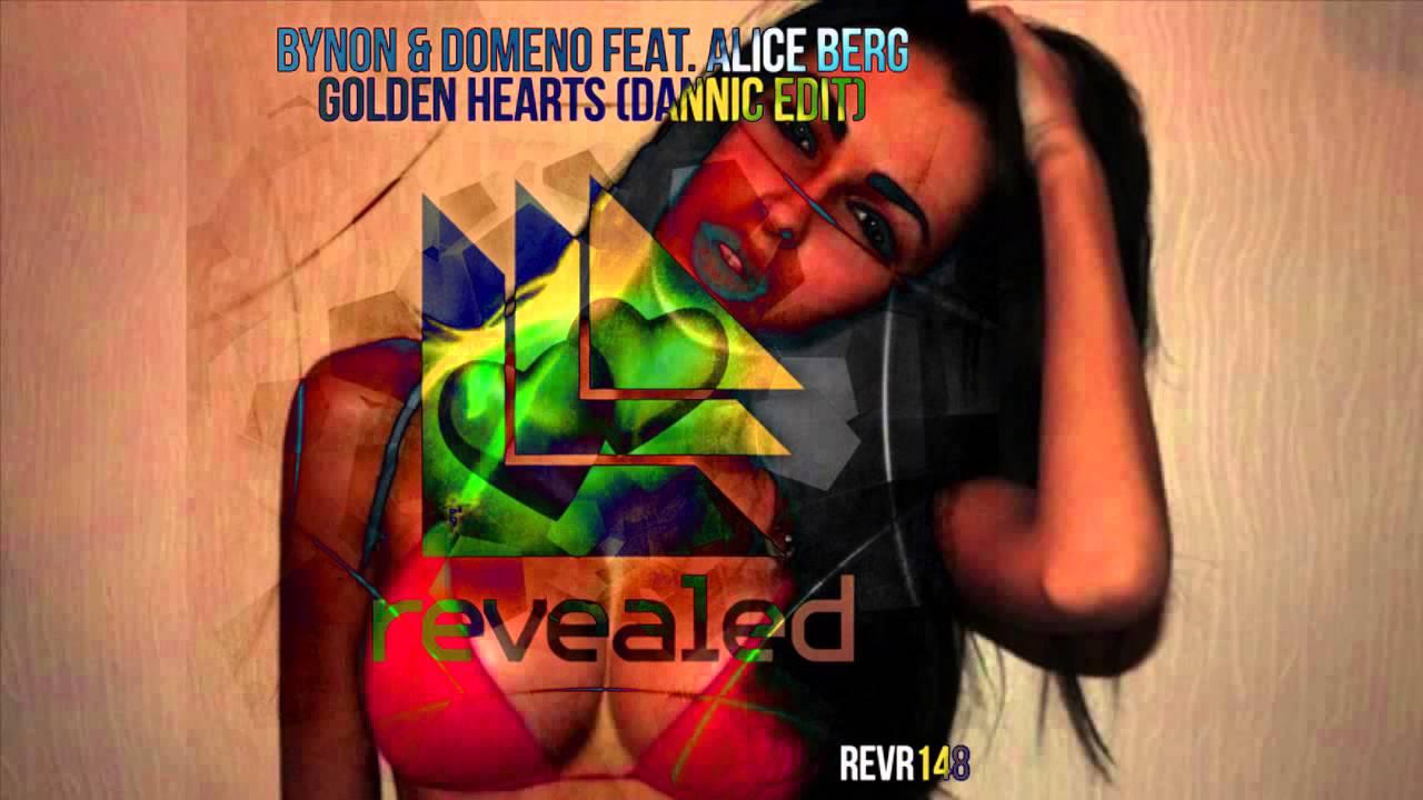 ▶ BYNON & Domeno feat  Alice Berg - Golden Hearts (Dannic Edit)