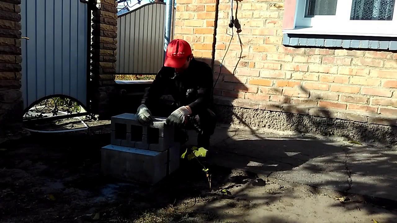 Новые технологии в строительстве.  Не сошлась кладка кирпича. Работа в Украине.