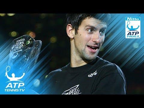 Davydenko v Djokovic: ATP Finals 2008 Final Highlights