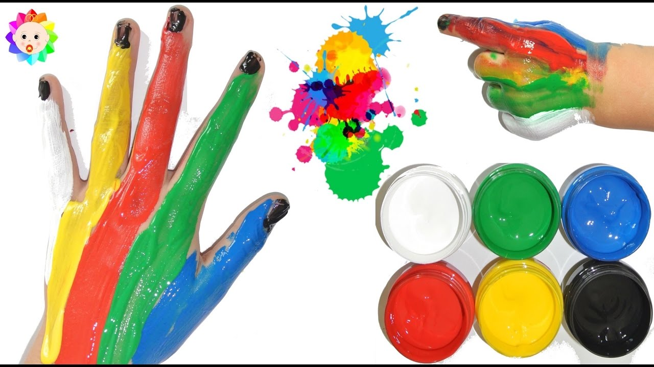 BABY Learn Colors With Paints for Children, Toddlers & Babies ...