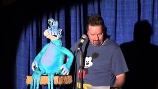 Terry Fator With Axtell Alien Puppet At ...