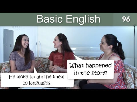 Lesson 96 ????? Basic English with Jennifer ?? Practice with the Simple Past