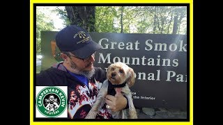 Driving RV Into The Great Smoky Mountains