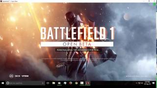 How to Install BattleField 1 Open Beta from Origin Backup
