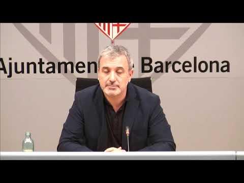 Collboni explica el Servei municipal de Convivència i Turisme