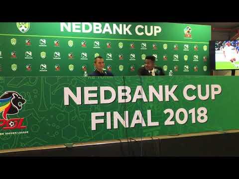 Fadlu Davids' Nedbank Cup fina post match interview