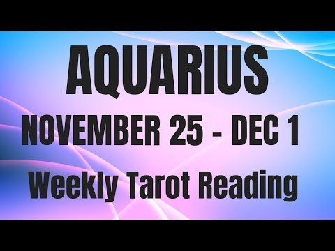 weekly tarot november 25 2019