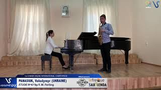 Volodymyr Panasiuk – Etude Ferling 47