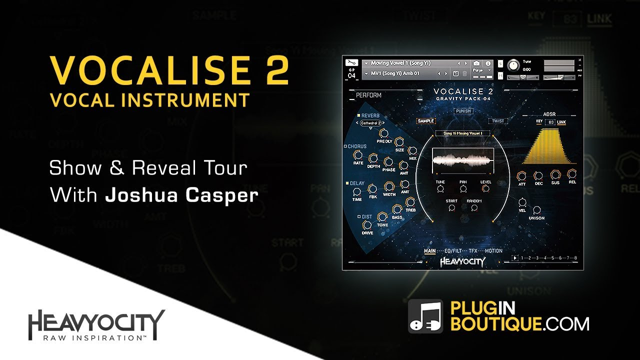 Creating Vocal Parts With Vocalise 2 Kontakt Instrument - By Heavyocity