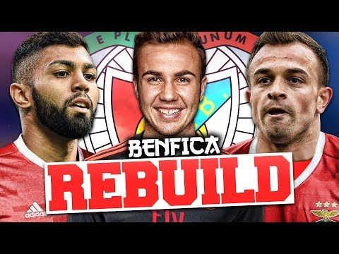 REBUILDING SL BENFICA!!! FIFA 17 Career Mode